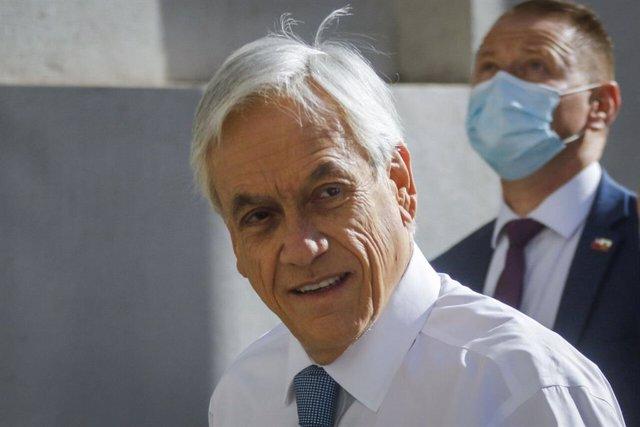 Archivo - El presidente de Chile, Sebastián Piñera