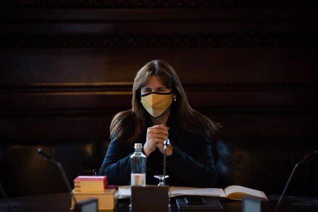 La nova presidenta del Parlament de Catalunya, Laura Borràs.