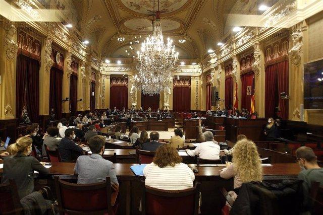 Archivo - Sesión plenaria en el Parlamento de Baleares, en Palma de Mallorca