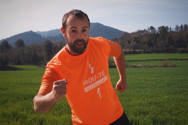 L'humorista Peyu en la cursa solidària en línia 'Mou-te per l'esclerosi múltiple'