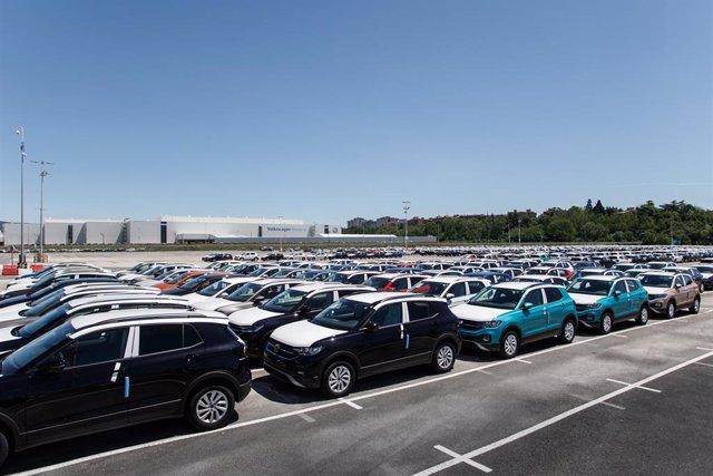 Archivo - Campa de expediciones de Volkswagen Navarra.
