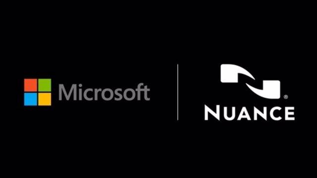 Logos de Microsoft y Nuance.