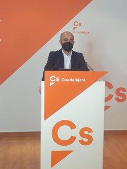 El secretario de Acción Institucional de Ciudadanos Castilla-La Mancha, Israel Marco