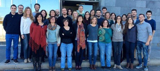 Grupo de investigación del CIBERDEM en la UAB