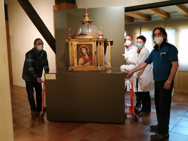 Imagen de una de las salas del Museo de Arte Sacro de Bilbao