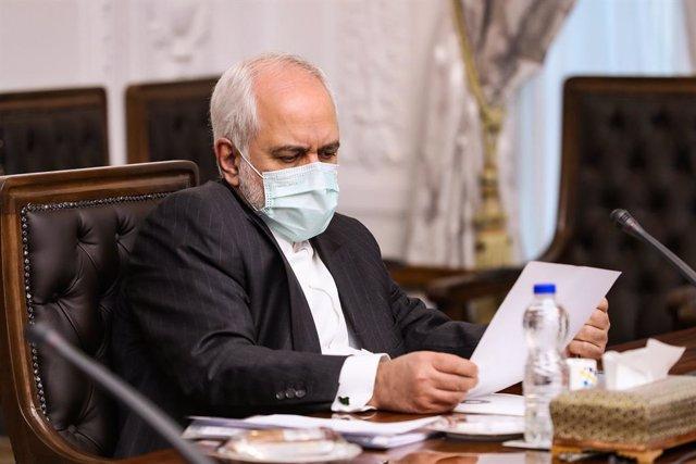 Archivo - El ministro de Exteriores de Irán, Mohamad Yavad Zarif