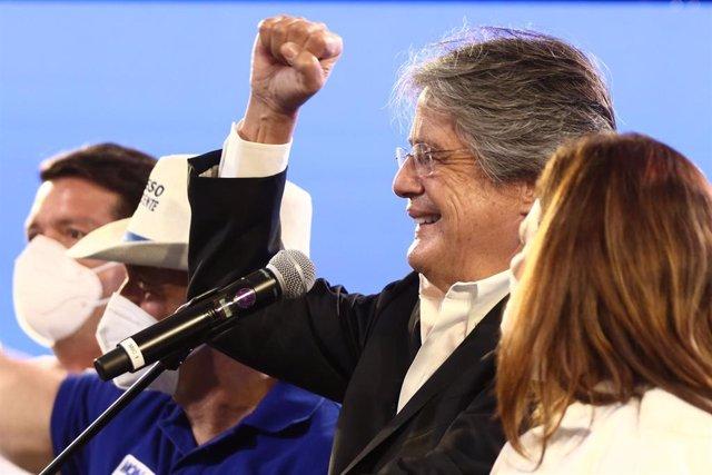 Archivo - El nuevo presidente de Ecuador, Guillermo Lasso.