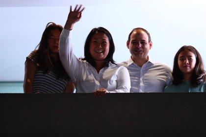 Perú.- Keiko Fujimori se sitúa en segunda posición con el 70 por ciento de actas escrutadas