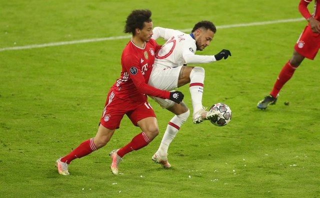 Sané (Bayern) y Neymar (PSG)