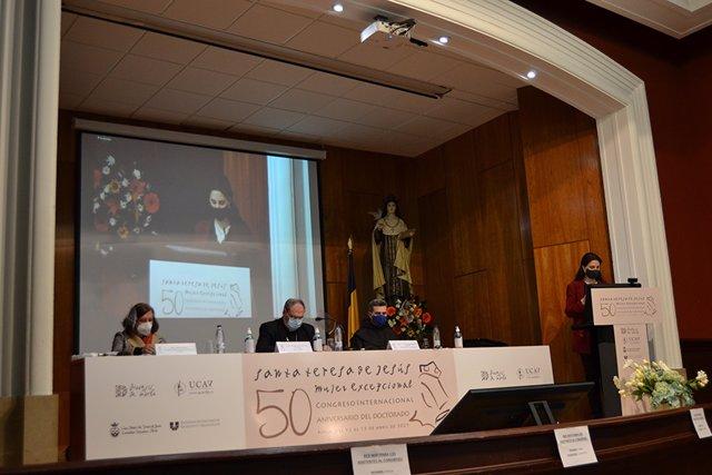 Inauguración del congreso dedicado a Santa Teresa en Ávila