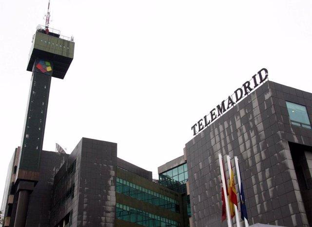 Archivo - Sede de Telemadrid en una imagen de archivo