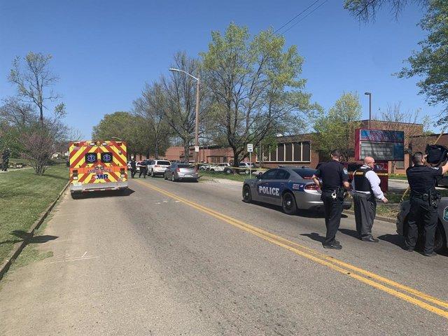 Policía en Knoxville, Tennessee, Estados Unidos