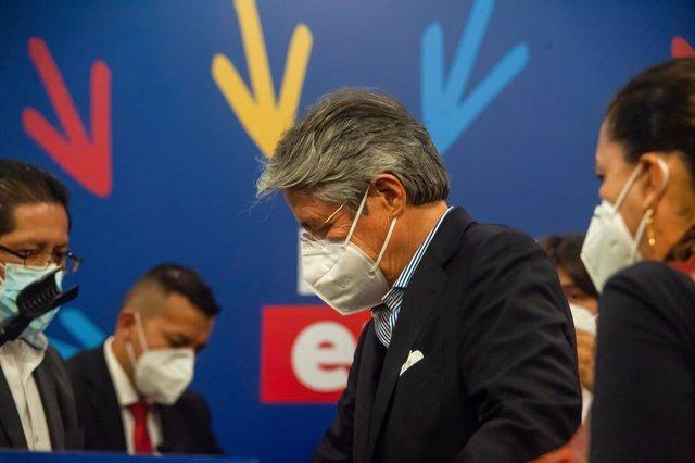 El presidente electo de Ecuador, Guillermo Lasso