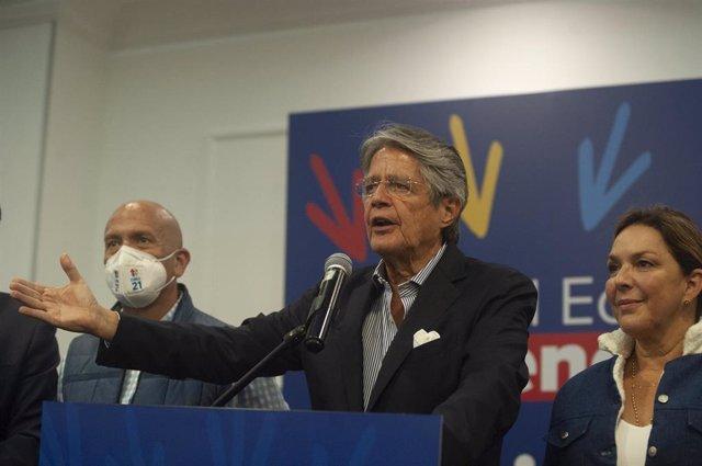 Guillermo Lasso, presidente electo de Ecuador
