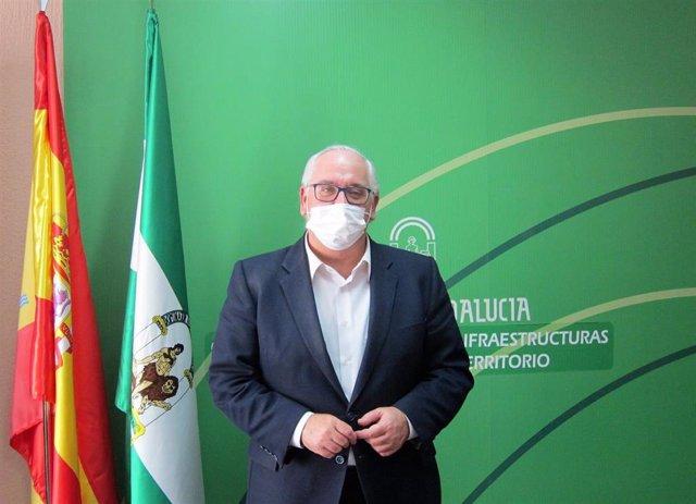 Archivo - El delegado territorial de Fomento, Infraestructuras y Ordenación del Territorio, Jesús Estrella.