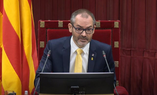 Archivo - Arxiu - El vicepresident primer del Parlament, Josep Costa.