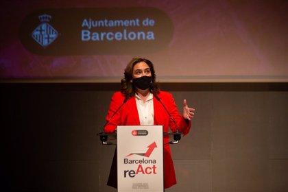 Colau inaugura las jornadas 'Barcelona reACT' para la reactivación económica post-Covid