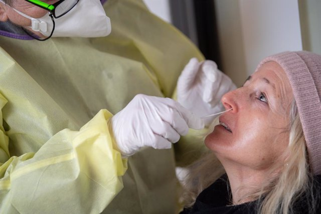 Archivo - Prueba de coronavirus en Alemania