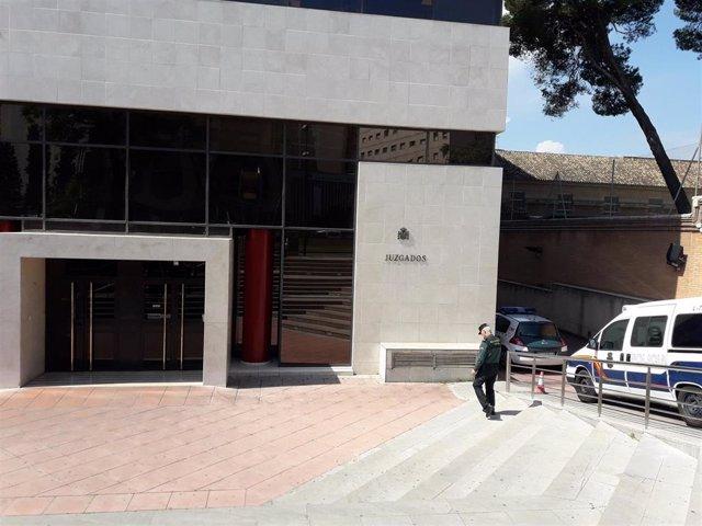 Archivo - Edificio judicial de La Caleta
