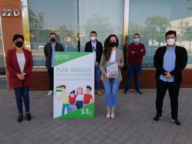 Presentación del Plan Andaluz de Rescate a la Juventud de las JSA