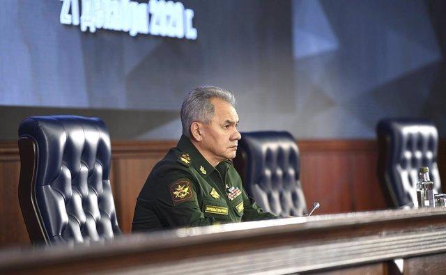 Sergei Shoigu, ministro de Defensa de Rusia