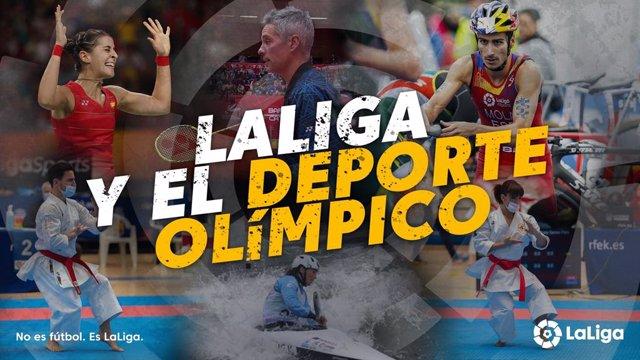 """LaLiga reitera su """"compromiso"""" con el deporte olímpico de cara a Tokio"""