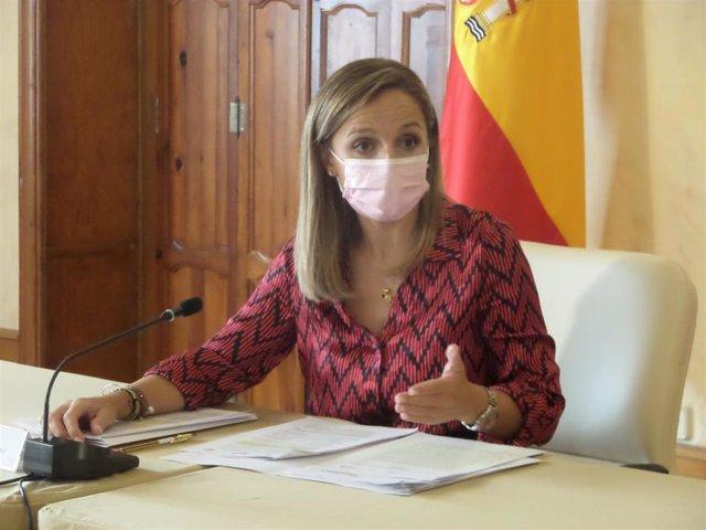 Archivo - La delegada de la Junta en Almería, Maribel Sánchez