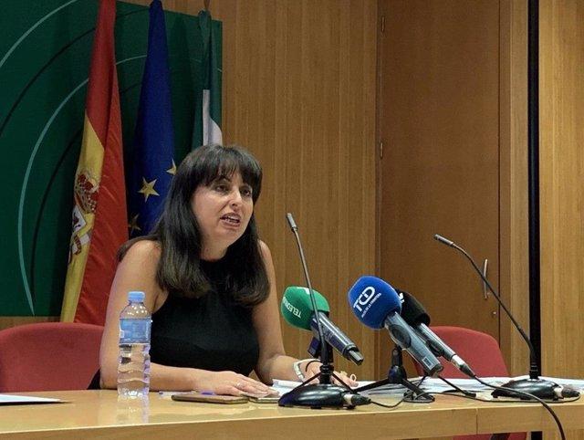 Archivo - Imagen de archivo de la delegada de Educación en Huelva, Estela Villalba.