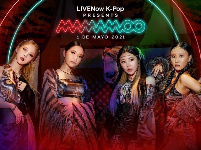 El cuarteto de K-Pop Mamamoo