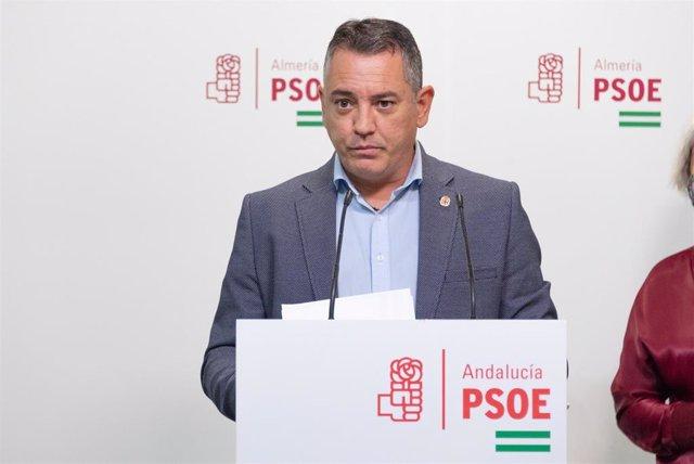 El diputado nacional del PSOE Indalecio Gutiérrez
