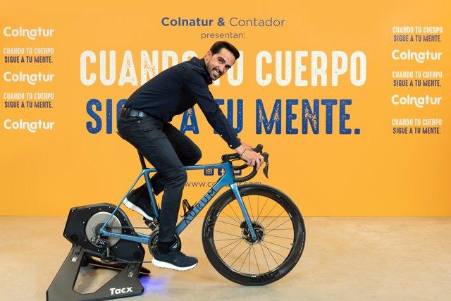 El exciclista Alberto Contador, nuevo Embajador de Colnatur.