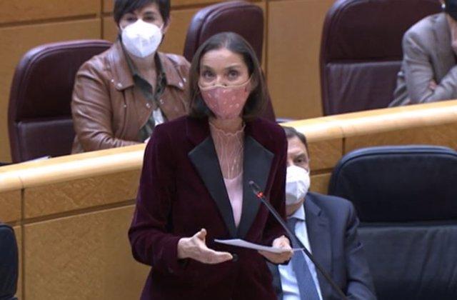 Ministra de Industria, Comercio y Turismo, Reyes Maroto.
