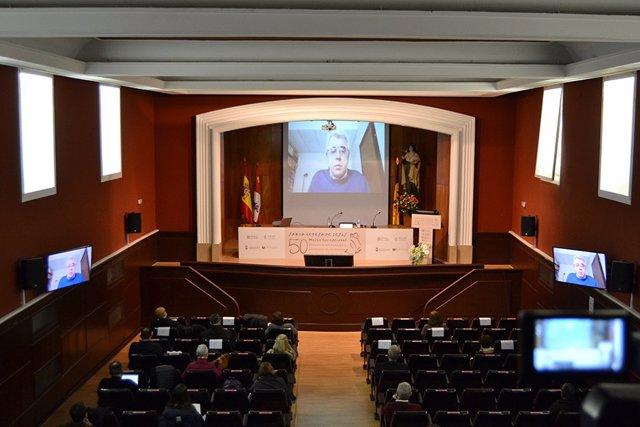 El carmelita Silvano Giordano interviene en el Congreso Internacional 'Mujer excepcional. Cincuenta años del doctorado de Santa Teresa de Jesús'.