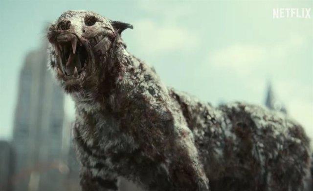Un tigre zombie corona el demencial tráiler de Ejército de los muertos de Zack Snyder