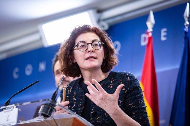 Archivo - La eurodiputada de Cs Maite Pagazaurtundúa, en una foto de archivo.