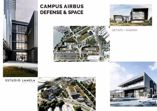 Nuevo Campus de Airbus en Getafe