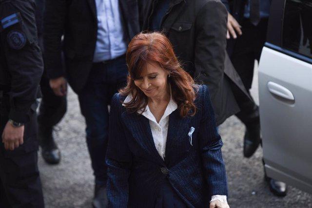 Archivo - Arxivo - La vicepresidenta d'Argentina, Cristina Fernández de Kirchner