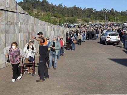Os casos activos soben a 2.400 en Galicia e descenden a 184 os pacientes Covid hospitalizados