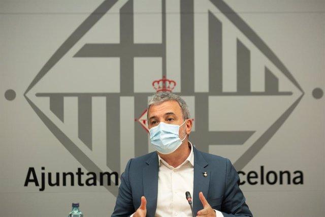 Arxiu - El tinent d'alcalde de Barcelona, Jaume Collboni.