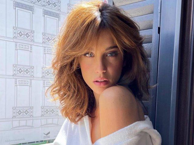 María Pedraza, espectacular con su nuevo look