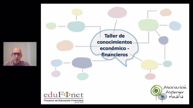 El Proyecto Edufinet de Unicaja acerca por primera vez la educación financiera a la Asociación Asperger de Madrid