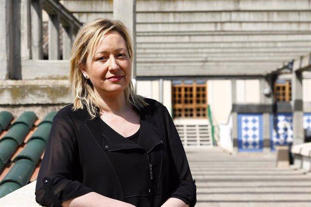La consejera de Economía, Planificación y Empleo del Gobierno de Aragón, Marta Gastón.