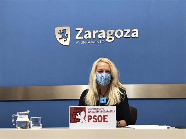 Archivo - La concejal del PSOE, Ros Cihuelo