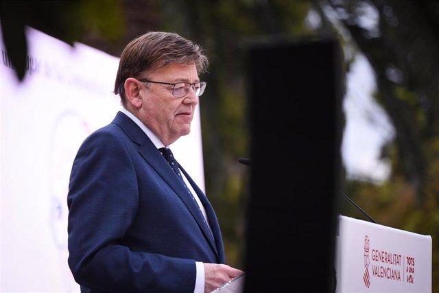 El presidente de la Generalitat Valenciana, Ximo Puig, en una imagen de archivo.
