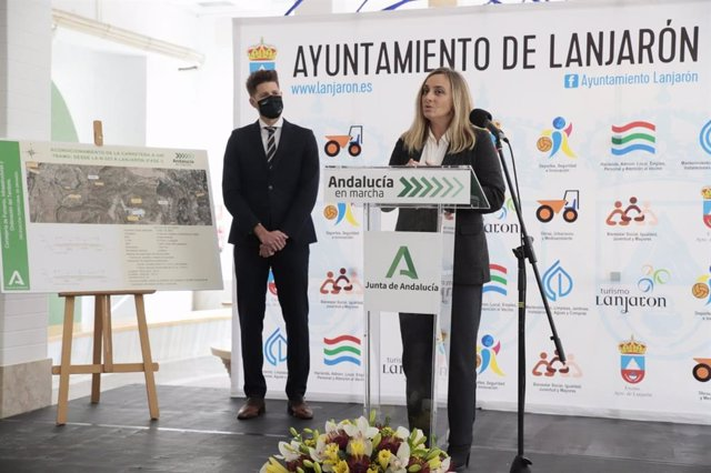 Presentación del proyecto del nuevo acceso a la Alpujarra