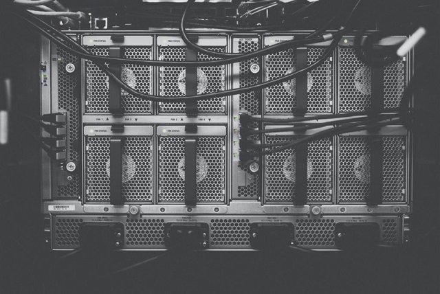 Archivo - Servidor informático.