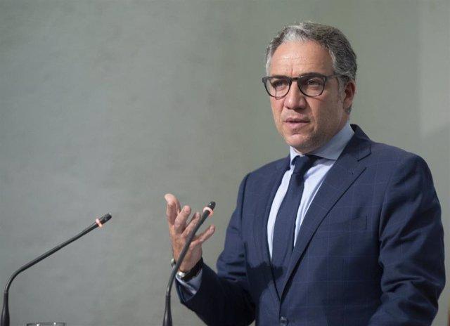 El consejero andaluz de la Presidencia, Elías Bendodo