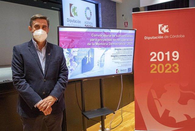El responsable de Memoria Democrática de la Diputación de Córdoba, Ramón Hernández.