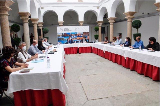 Jornadas del Grupo de Ciudades Patrimonio en Mérida (Extremadura).