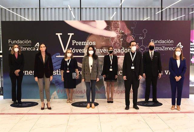V edición de los Premios Jóvenes Investigadores.